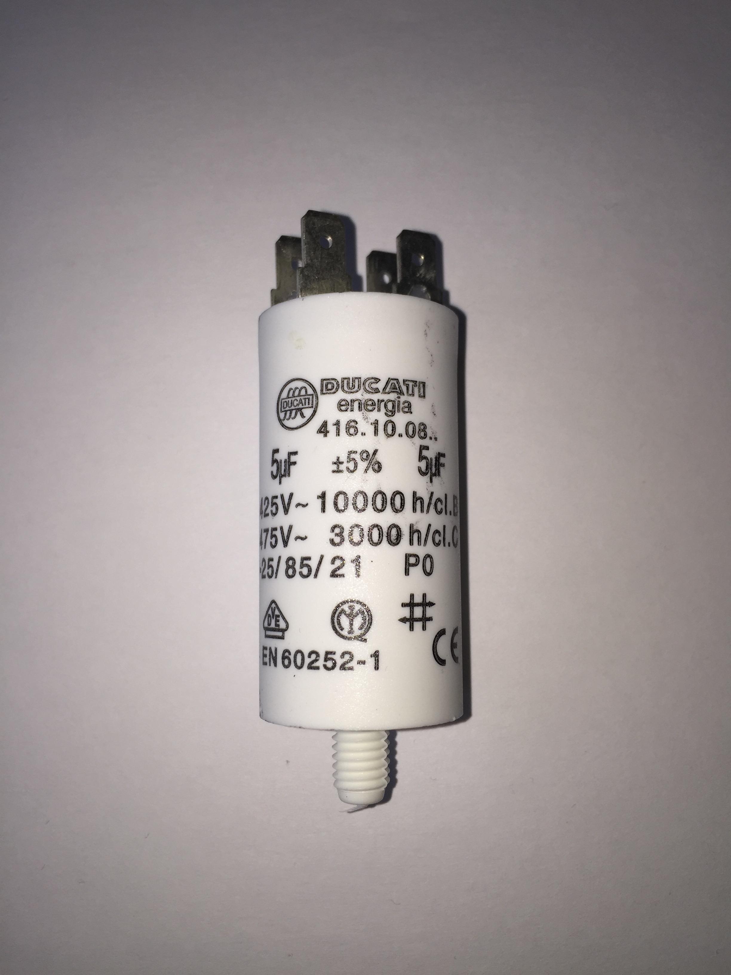 Stuart turner capacitor 5uf 240v buy shower pump capacitors for Ducati energia motor run capacitor
