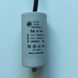 Motor Run Capacitors 14uF Twin Lead 240v-475v pf