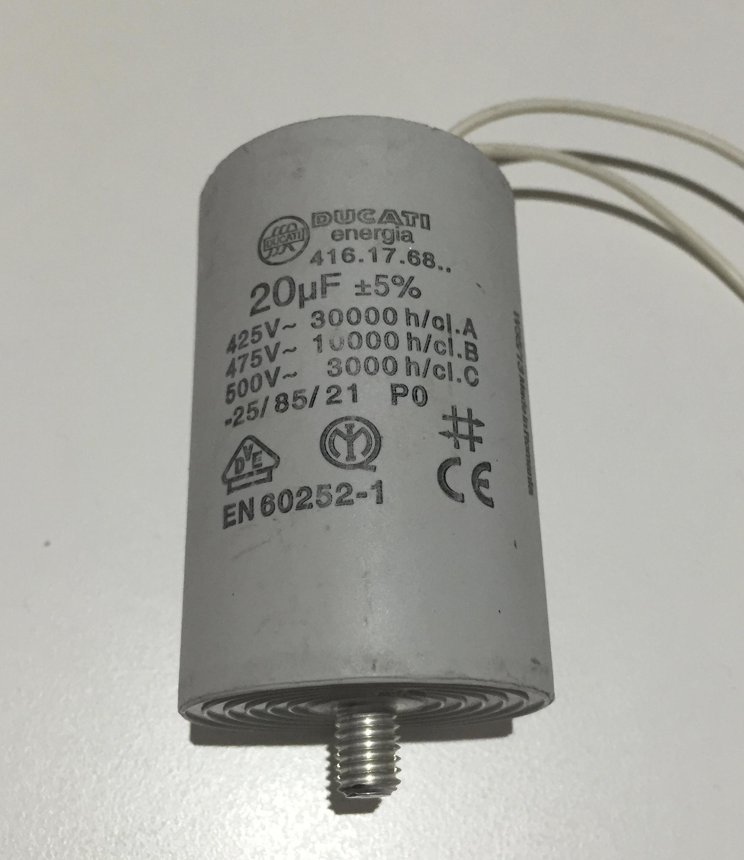 Motor Run Capacitor 20uf White Wires Buy Motor Run