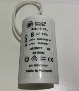 Motor Run Capacitor 8uF