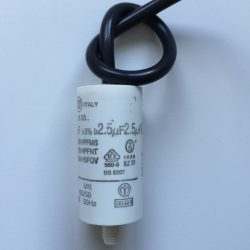 Motor Run Capacitors 2.5uF Twin Lead 240v-500v pf
