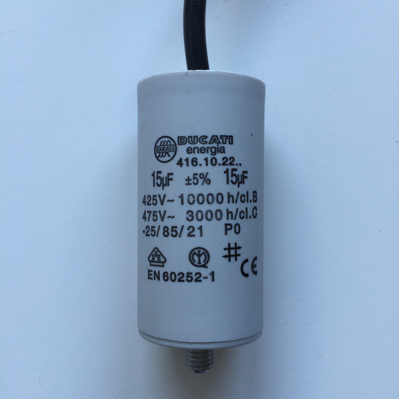 240v Motor Run Capacitor Diagram - Wiring Data