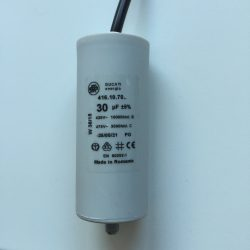 Motor Run Capacitors 30uF Twin Lead 240v-475v pf