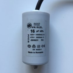 Motor Run Capacitors 16uF Twin Lead 240v-475v pf