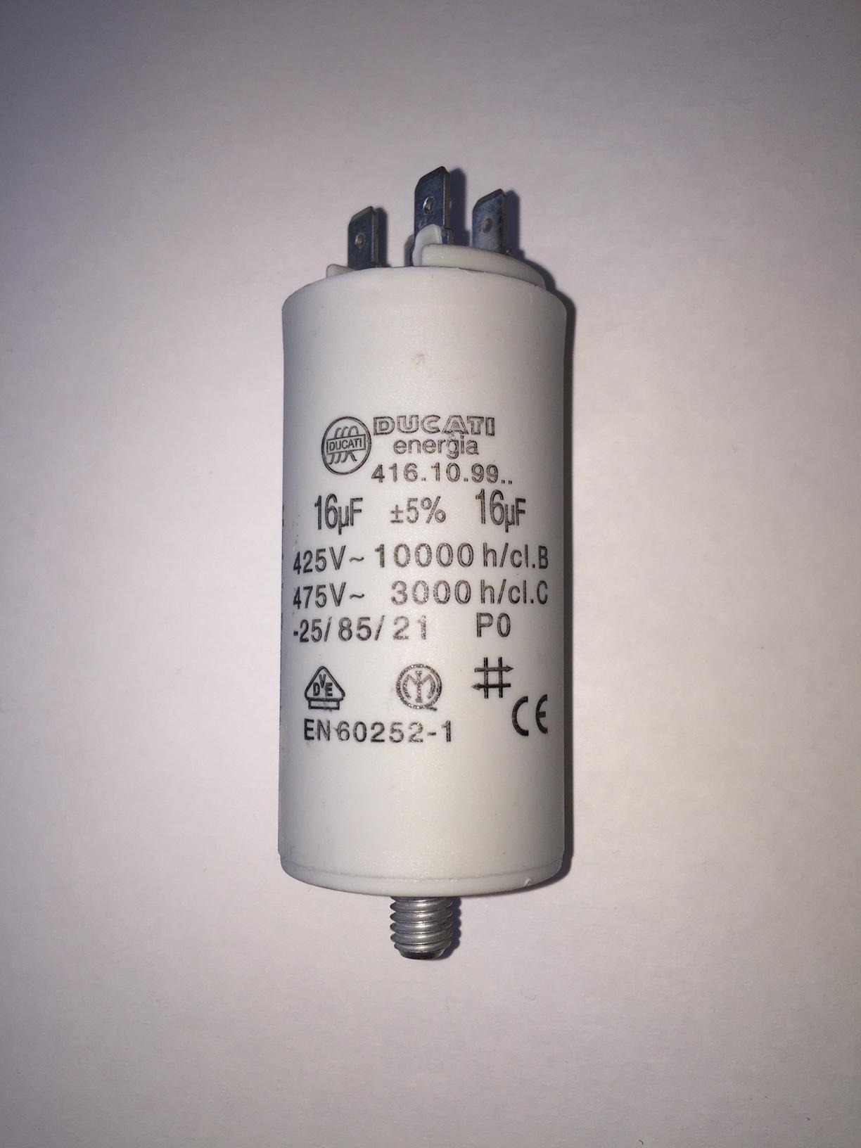 Buy motor run capacitors 16uf buy now get next day delivery for Ducati energia motor run capacitor