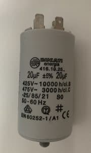 Motor Run Capacitors 20uF