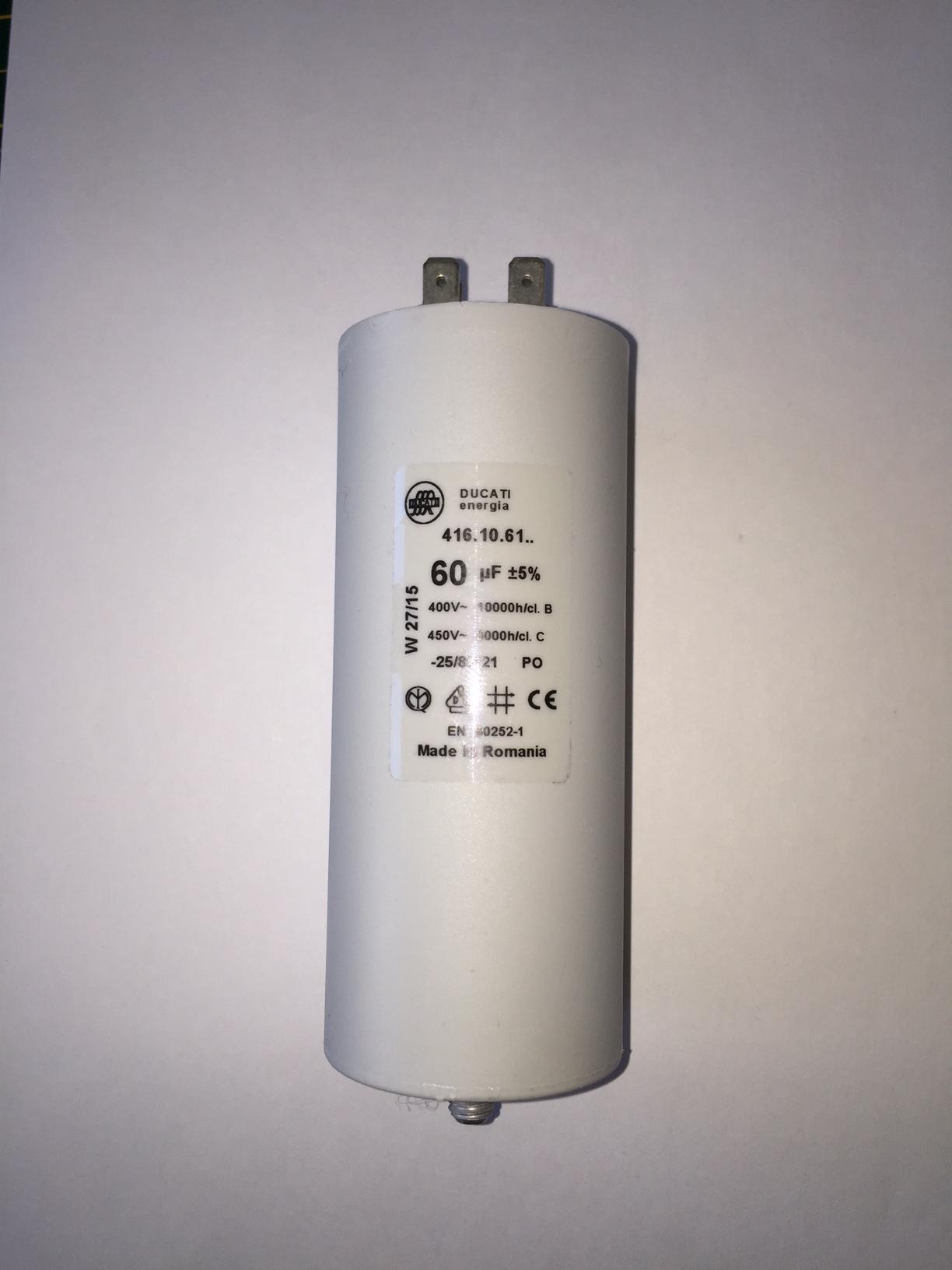 Buy motor run capacitors 60uf buy now get next day delivery for Ducati energia motor run capacitor