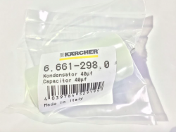Karcher Motor Run Capacitor 40uF MF Kondensator